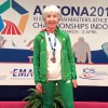 Another International Medal in the Bag for Ann Woodlock.